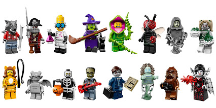 lego minifigures 14 Monster