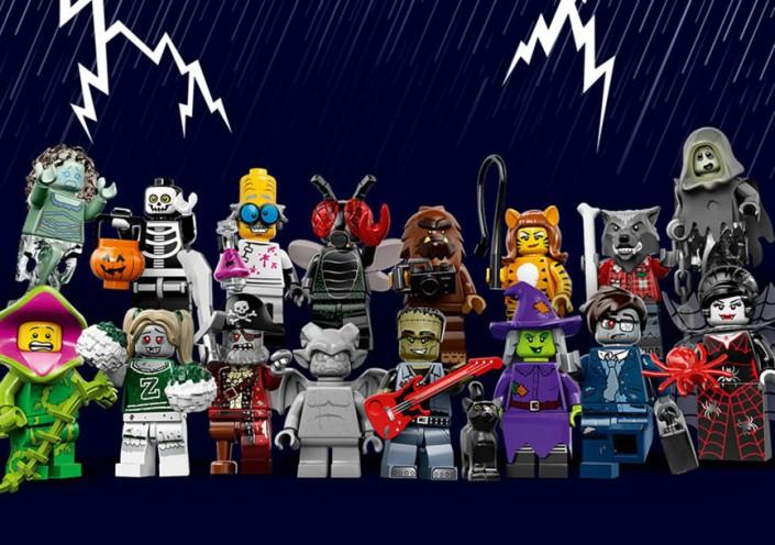 lego minifigures serie 14 Monster