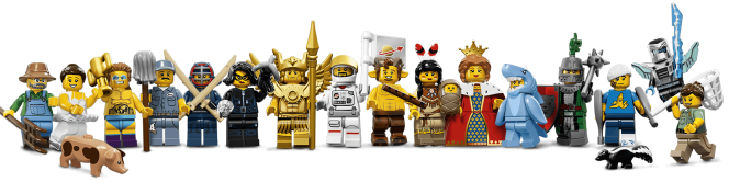 banner lego minifigures 15